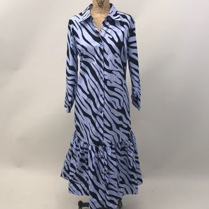 NEW Zara Zebra Dress